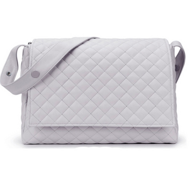 Spanish Grey Quilted Changing Bag