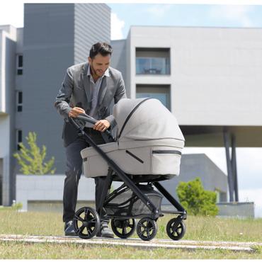 Bebecar V Pack Sport 3 in 1 Travel System New 2021 Bebecar - Sand Grey