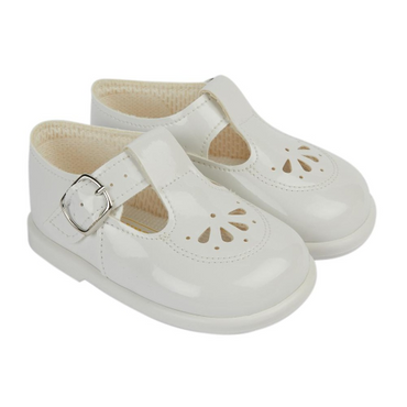 Baypod Baby Pre Walking Shoes in Patent Classic Design