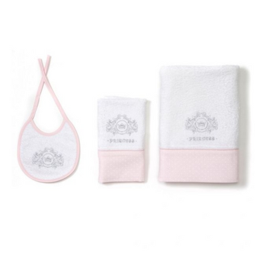 Mee-Go Little Princess Towel & Bib Set