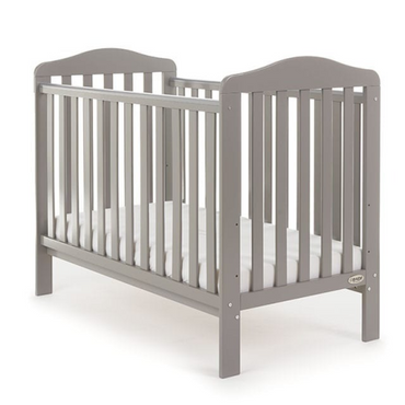 Grey Wooden Baby Cot - Taupe Grey