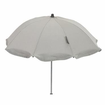 Bebecar Light Grey Parasol - Bebecar White Glitter & Grey Shimmer Parasol