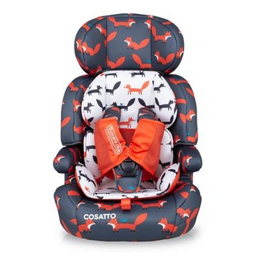 Cosatto Zoomi 123 Car seat - Charcoal Mister Fox