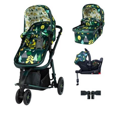 Cosatto Giggle 3 Travel System 3 in 1 RAC I-Size Isofix Bundle - In To The Wild