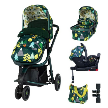 Cosatto Giggle 3 Travel System 3 in 1 RAC I-Size Everything Bundle - In To The Wild