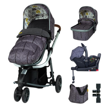 Cosatto Giggle 3 Travel System 3 in 1 I-Size Everything Bundle - Fika Forest