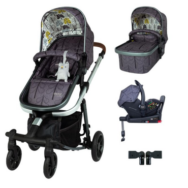 Cosatto Giggle Quad 3 in 1 RAC i-Size Isofix Bundle - Fika Forest
