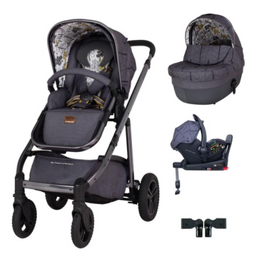 Cosatto Wow Continental 3 in 1 Premium RAC i-Size Isofix Bundle - Fika Forest