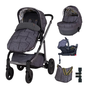 Cosatto Wow Continental 3 in 1 Premium RAC i-Size Everything Bundle - Fika Forest