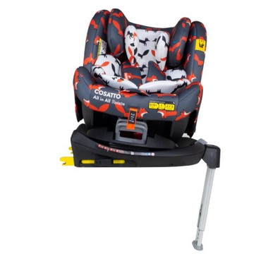 Cosatto All in All Rotate Group 0+123 Car Seat Charcoal Mister Fox
