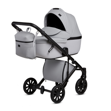 Anex Baby E Type Pram and Pushchair - Marble Grey