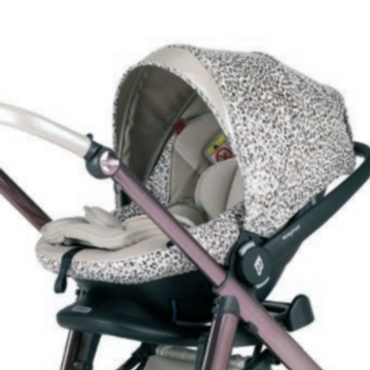 Bebecar Lie Flat Car Seat - Cheetah New 2021 Prive Range