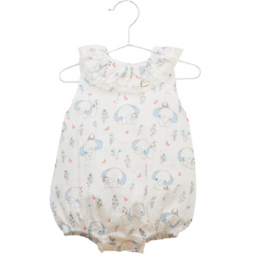 Juliana 2021 Elephant Baby Romper