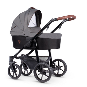 Venicci Gusto 2.0 Grafite Prestige 2 in 1 Pram Package - 8 Piece Bundle