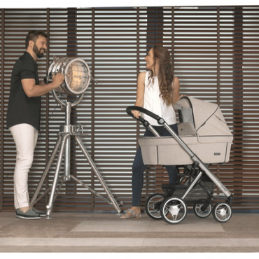 Bebecar Pack Prow 3 in 1 Travel System New 2021 Model - Beige