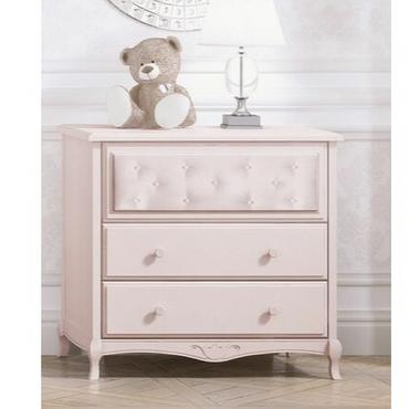 Bebecar Trama Luxury Dresser in Pink