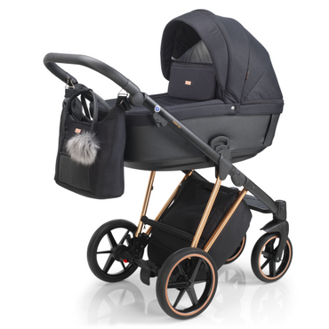 Mee-Go Milano Plus Special Edition - Rose Gold Travel System New 2021