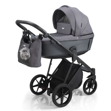 Mee-Go Milano Plus Special Edition - Midnight Grey Travel System New 2021