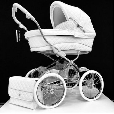 Bebecar Stylo Class Vanilla Special Edition Pram and Pushchair - New 2021 Lie Flat Car Seat