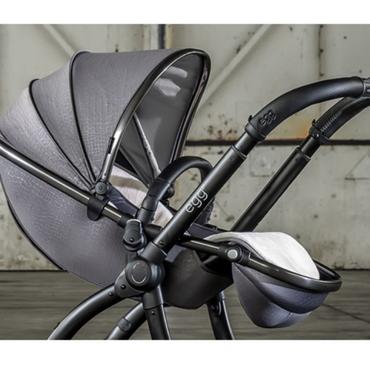 Egg2® Egg 2 Jurassic Grey Special Edition Luxury Stroller Bundle - 8 Piece Bundle