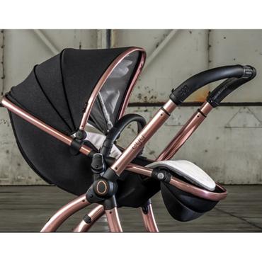 Egg2® Diamond Black Special Edition Luxury Stroller Bundle - 8 Piece Bundle