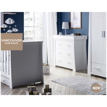 BabyStyle Vancouver 3 Piece Nursery Room Set - New 2021 Nursery Furniture Range