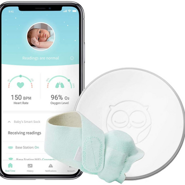 Owlet Smart Baby Monitor System + Smart Sock Bundle