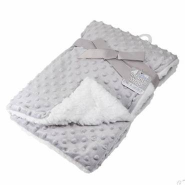 Bubble Blanket in Grey