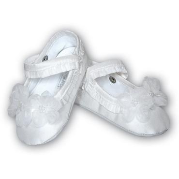 Sarah Louise Girls Christening Shoes