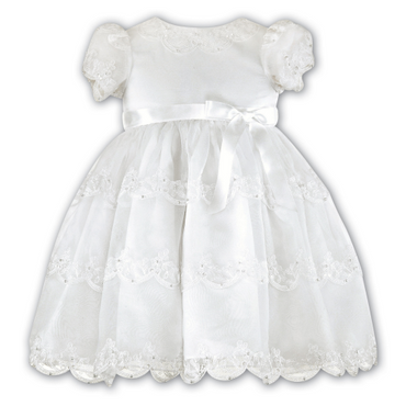 Sarah Louise Special Occasion Ivory Dress - Emily