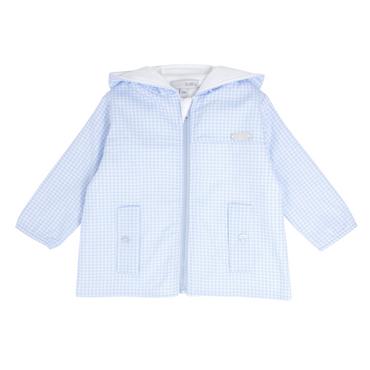 Blues Baby wear Boys Gingham Summer Jacket