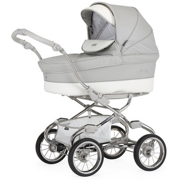 Bebecar Stylo Class Silver Grey 3 in 1 Travel System