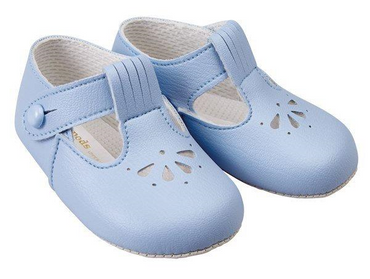 Baypod Baby Soft Soled Classic Shoes in Baby Blue