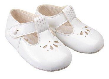 Baypod baby Soft Soled Classic White Shoes