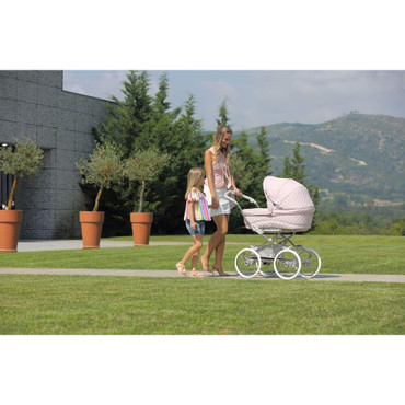 Bebecar Stylo class soft pink pram package