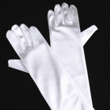 First Holy Communion Satin Gloves