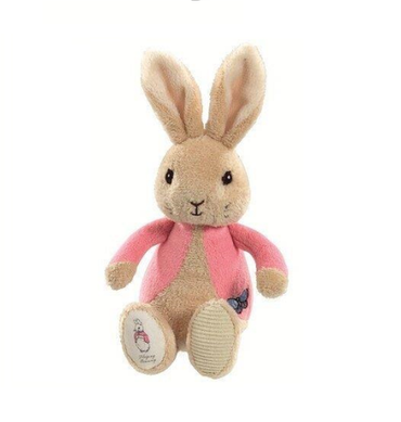 Flopsy bunny newborn rattle from the peter rabbit collection