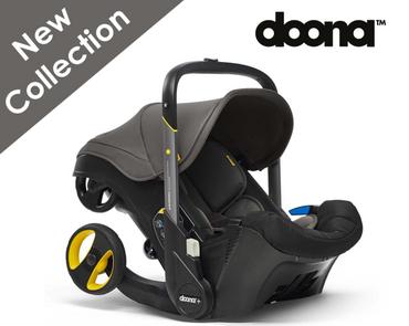 Grey Doona Car Seat to Stroller - Urban Grey Doona