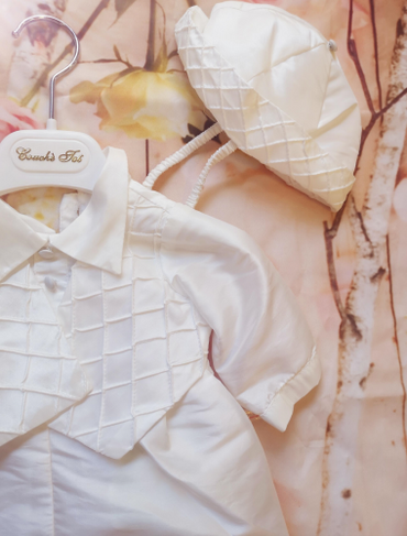 Ivory Boys Christening Outfit