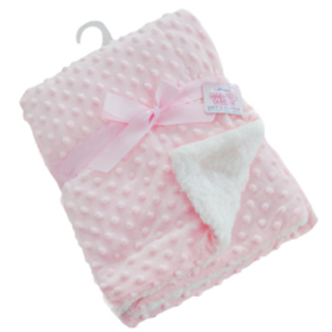 Pink Bubble Blanket