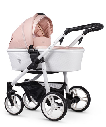 Pink Venicci Pure Rose 2 in 1 Pram Package - New 2021 Style