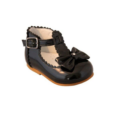 Sally Black Toddler shoes by Sevva