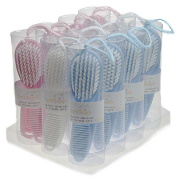 Soft Baby Brush and Comb Set