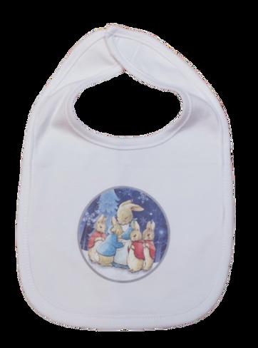 Winter Themed Baby Bib
