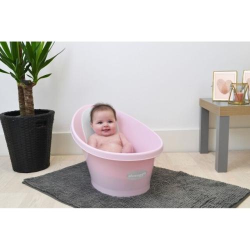 shnuggle baby bath rose pink