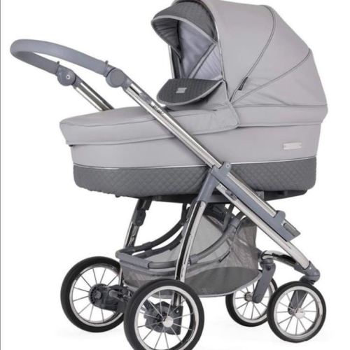 Bebecar Ip-Op Pewter travel system 3 in 1 new 2020 range.