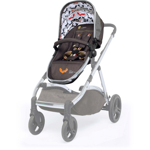 cosatto wow xl mister fox pushchair seat unit