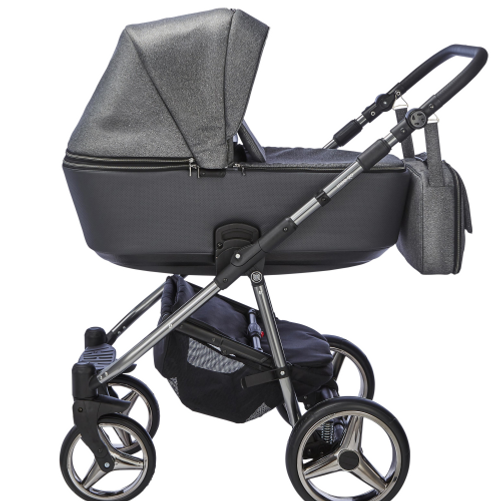 mee-go santino grey cloud 3 in 1 travel system