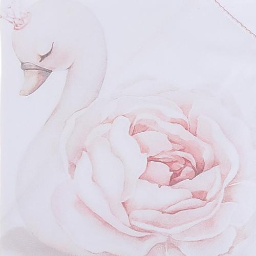 Sofija Printed Swan Bumper Set