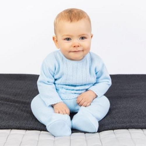 Baby Boys Knitted Set - Baby Boys Spanish Knit wear